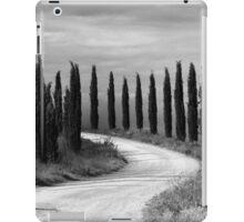Cypress Trees, Sienna, Italy iPad Case/Skin