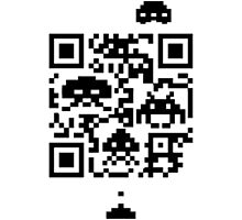 QR invaders  by keichi