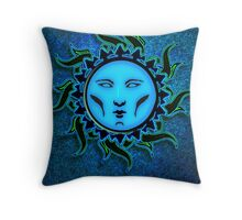 Psychedelic Star 4 Character Icon Throw Pillow