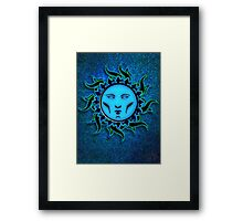 Psychedelic Star 4 Character Icon Framed Print