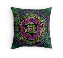 Celtic Knot Sphere Variations 2 Throw Pillow