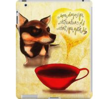What my #Coffee says to me - May 13, 2015 iPad Case/Skin