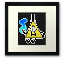 Bill Cipher Deal Framed Print