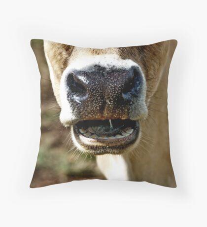 """Say  """"Aah""""! Throw Pillow"""