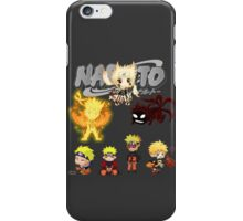 Naruto Shippuden Chibi anime manga shirt iPhone Case/Skin