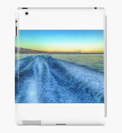 Lake washington iPad Case/Skin
