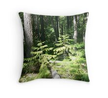 Forest - Glacier National Park Throw Pillow