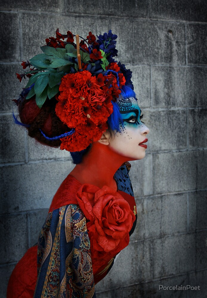 Geisha by PorcelainPoet