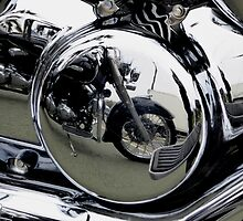 reflective motorbikes by Perggals© - Stacey Turner