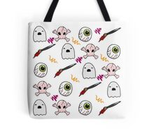 brush with death Tote Bag