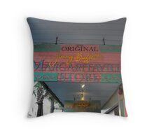 Key West Jimmy Buffet Margaritaville Store Throw Pillow