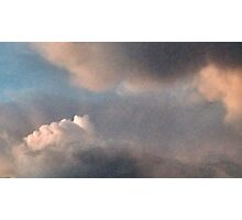 2nd of last evening's cumulus cloud event Photographic Print