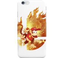 Smash Diddy Kong iPhone Case/Skin