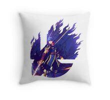 Smash Marth Throw Pillow