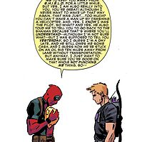 and you think deadpool is straight by genloe