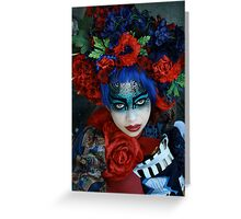Geisha II Greeting Card