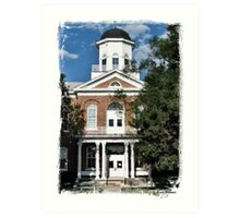 Lincoln County Courthouse Art Print