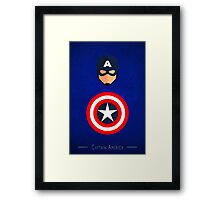 The Soldier - Captain America  Framed Print