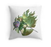 Smash Link Throw Pillow