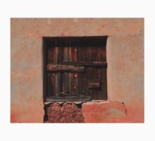 Wooden Shutters in Adobe House T-Shirt
