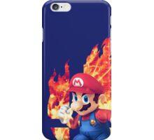 Smash Mario iPhone Case/Skin