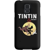 Tintin and Snowy Samsung Galaxy Case/Skin