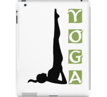 Yoga T-Shirt iPad Case/Skin