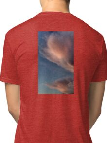 4th of 5 of yesterday's evening cumulus shots  Tri-blend T-Shirt