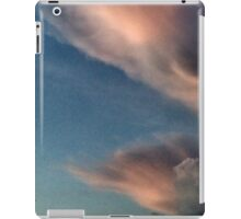 4th of 5 of yesterday's evening cumulus shots  iPad Case/Skin