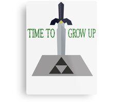 Time to Grow Up Metal Print