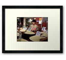 Chiang Mai Market, Thailand Framed Print