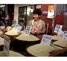 Chiang Mai Market, Thailand Photographic Print