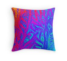 Barren Flames Throw Pillow