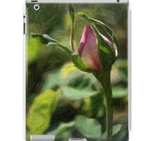 Rosebud In Colored Pencil ll iPad Case/Skin