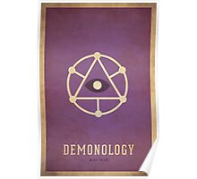 Demonology Warlock - WoW Minimalism Poster