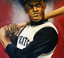 Roberto Clemente by ABaroneWT