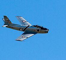 F-86 Sabre by Richie Wessen