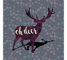 Oh, deer. Photographic Print
