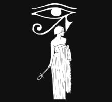 Eye of Horus T-Shirt by Allie Hartley