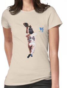 Willie Mays Womens Fitted T-Shirt