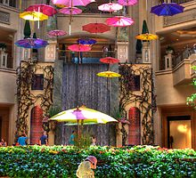 RAINING UMBRELLAS by MIGHTY TEMPLE IMAGES