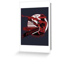 Furiosa Motor Oil Greeting Card
