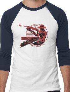 Furiosa Motor Oil Men's Baseball ¾ T-Shirt
