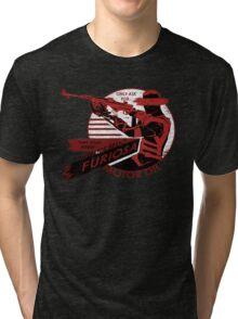 Furiosa Motor Oil Tri-blend T-Shirt
