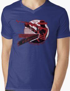 Furiosa Motor Oil Mens V-Neck T-Shirt