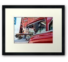 At The Drive-In Framed Print