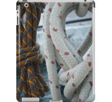 Sailing ropes iPad Case/Skin