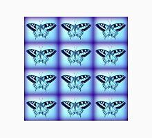 moths in blue Unisex T-Shirt