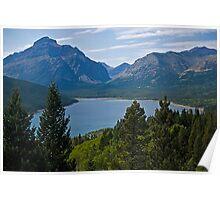 Two Medicine Lake Poster