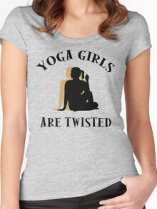 Very Funny Yoga T-Shirt Women's Fitted Scoop T-Shirt